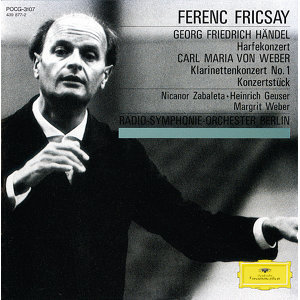 Margrit Weber,Heinrich Geuser,Ferenc Fricsay,Nicanor Zabaleta,Radio-Symphonie-Orchester Berlin 歌手頭像