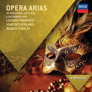 Luciano Pavarotti,Renata Tebaldi,Dame Joan Sutherland 歌手頭像