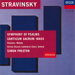 Simon Preston,Choir of Christ Church Cathedral, Oxford,London Sinfonietta,The Philip Jones Brass Ensemble 歌手頭像