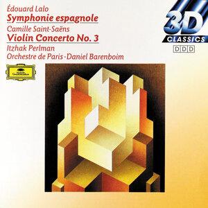 Itzhak Perlman, Orchestre de Paris / Daniel Barenboim (帕爾曼〈小提琴〉巴倫波因〈指揮〉巴黎管弦樂團) 歌手頭像