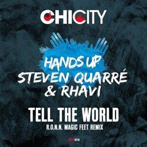 Hands Up, Steve Quarré, Rhavi 歌手頭像