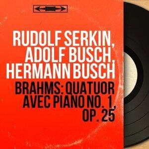Rudolf Serkin, Adolf Busch, Hermann Busch 歌手頭像