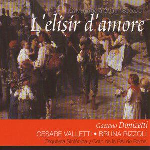 Cesare Valletti, Bruna Rizzoli, Coro y Orquesta de la RAI de Roma 歌手頭像