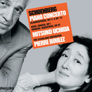 Mitsuko Uchida,The Cleveland Orchestra,Pierre Boulez