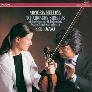 Viktoria Mullova,Seiji Ozawa,Boston Symphony Orchestra 歌手頭像