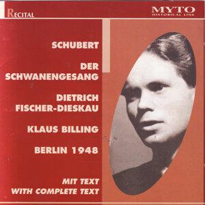 Dietrich Fischer Dieskau, Klaus Billing 歌手頭像