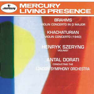 London Symphony Orchestra,Antal Doráti,Henryk Szeryng 歌手頭像