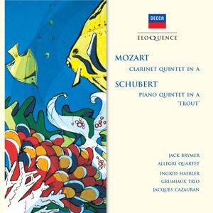 Grumiaux Trio,Ingrid Haebler,Jacques Cazauran,Jack Brymer,The Allegri String Quartet 歌手頭像
