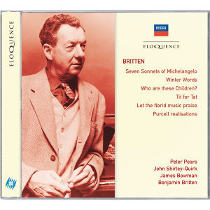 James Bowman,Benjamin Britten,Sir Peter Pears,John Shirley-Quirk 歌手頭像