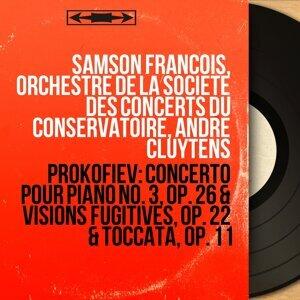Samson François, Orchestre de la Société des concerts du Conservatoire, André Cluytens