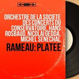 Orchestre de la Société des concerts du Conservatoire, Hans Rosbaud, Nicolai Gedda, Michel Sénéchal 歌手頭像
