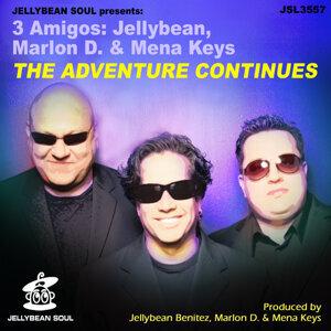 3 Amigos: Jellybean, Marlon D & Mena Keys 歌手頭像