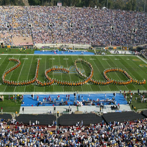 The UCLA Bruin Marching Band