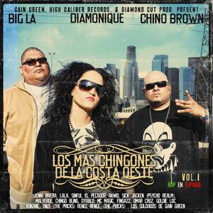 Chino Brown, Diamonique, Big LA 歌手頭像