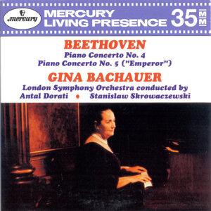 Stanislaw Skrowaczewski,Antal Doráti,London Symphony Orchestra,Gina Bachauer 歌手頭像