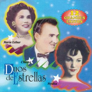 María Esther Ortíz, Cheito González y Nydia Souffront 歌手頭像