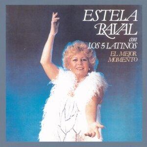 Estela Raval Con Los 5 Latinos