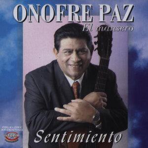 """Onofre Paz """"El Mansero"""" 歌手頭像"""