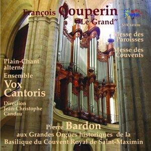Vox Cantoris, Jean-Christophe Candau, Pierre Bardon 歌手頭像
