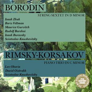 Lev Oborin, David Oistrakh, Sviatoslav Knushevitsky 歌手頭像