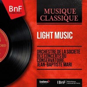 Orchestre de la Société des concerts du Conservatoire, Jean-Baptiste Mari 歌手頭像