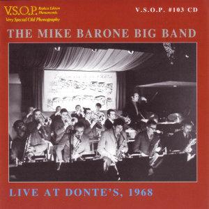 The Mike Barone Big Band 歌手頭像