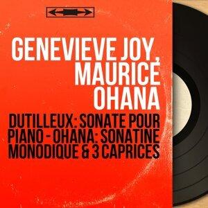 Geneviève Joy, Maurice Ohana 歌手頭像