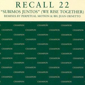 Recall 22 歌手頭像