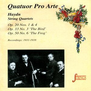 Quatuor Pro Arte 歌手頭像