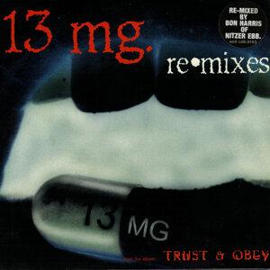 13 mg 歌手頭像