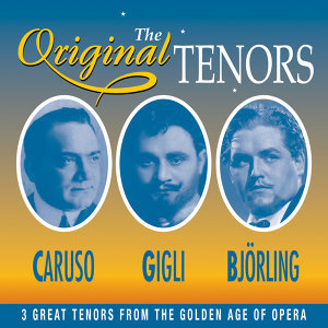 Caruso, Gigli, Bjorling 歌手頭像