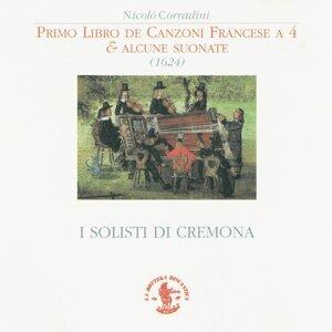 I Solisti di Cremona: Silvano Minella, Antonio De Lorenzi, Carolyn Baldacchini, Marco Perini, Marco Fracassi
