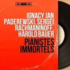 Ignacy Jan Paderewski, Sergei Rachmaninoff, Harold Bauer 歌手頭像