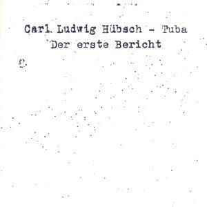 Carl Ludwig Hübsch 歌手頭像