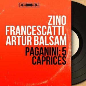 Zino Francescatti, Artur Balsam 歌手頭像