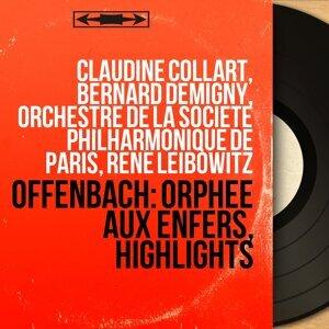 Claudine Collart, Bernard Demigny, Orchestre de la Société philharmonique de Paris, René Leibowitz 歌手頭像
