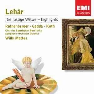 Anneliese Rothenberger/Nicolai Gedda/Erika Koth/Chor Des Bayerischen Rundfunks/Bayerisches Symphonie-Orchester/Willy Mattes 歌手頭像