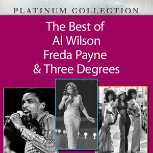 Al Wilson, Freda Payne, Three Degrees 歌手頭像