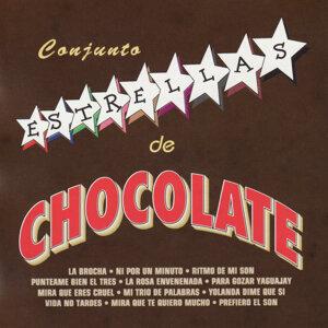 Conjunto Estrellas De Chocolate