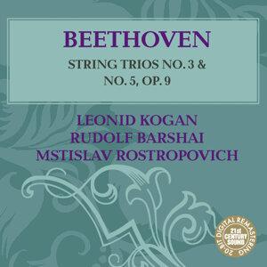 Leonid Kogan, Rudolf Barshai, Mstislav Rostropovich 歌手頭像