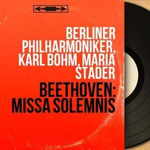 Berliner Philharmoniker, Karl Böhm, Maria Stader 歌手頭像