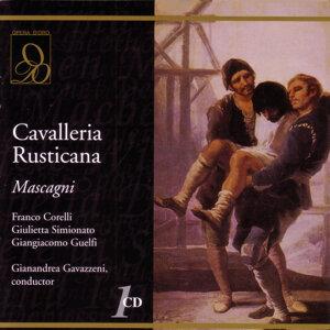 Giulietta Simionato, Giangiacomo Guelfi, Franco Corelli 歌手頭像