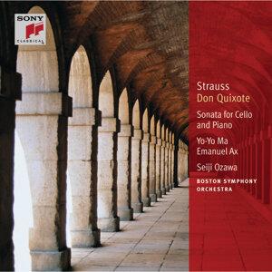 Yo-Yo Ma; Boston Symphony Orchestra; Seiji Ozawa; Emanuel Ax