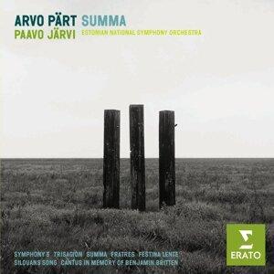 Paavo Jarvi/Estonian National Symphony Orchestra 歌手頭像
