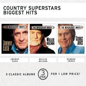 Country Superstars Biggest Hits (3 Pak) 歌手頭像