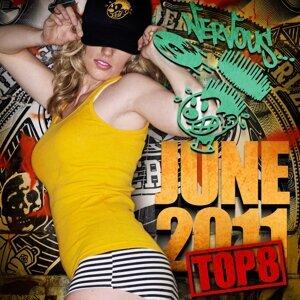Nervous June 2011 Top 8 歌手頭像