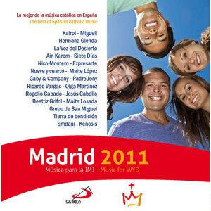 Madrid 2011 歌手頭像