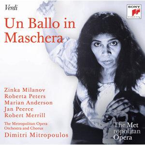 Dimitri Mitropoulos; Zinka Milanov, Roberta Peters, Marian Anderson, Jan Peerce, Robert Merrill 歌手頭像
