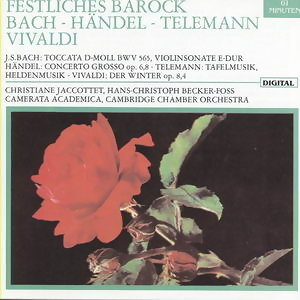 Bach - Handel - Telemann Vivaldi 歌手頭像