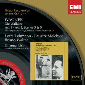 Lotte Lehmann/Lauritz Melchior/Emanuel List/Ella Flesch/Alfred Jerger/Wiener Philharmoniker/Bruno Walter アーティスト写真
